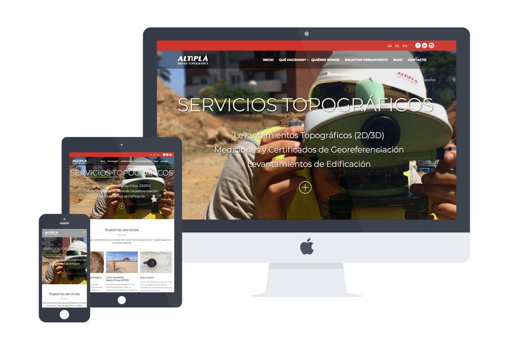 Desarrollo web Altipla - Artimedia