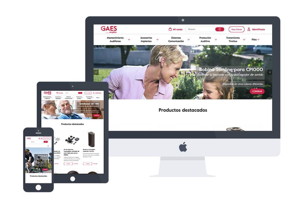 diseño web gaes - Artimedia