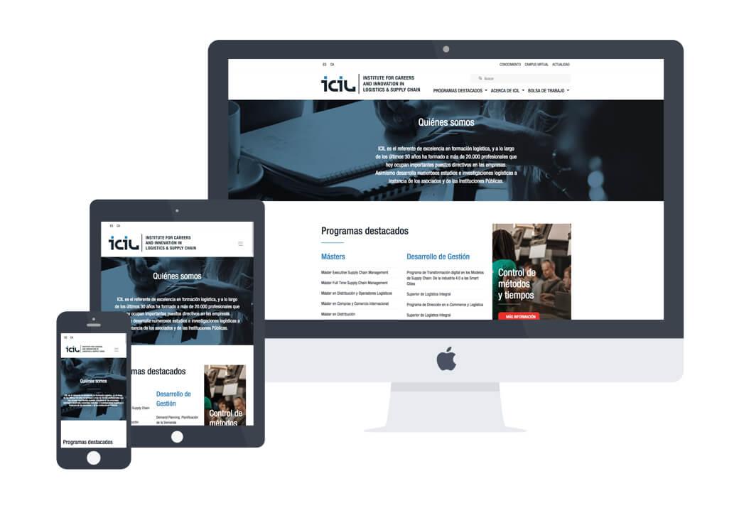 Desarrollo web Icil - Artimedia