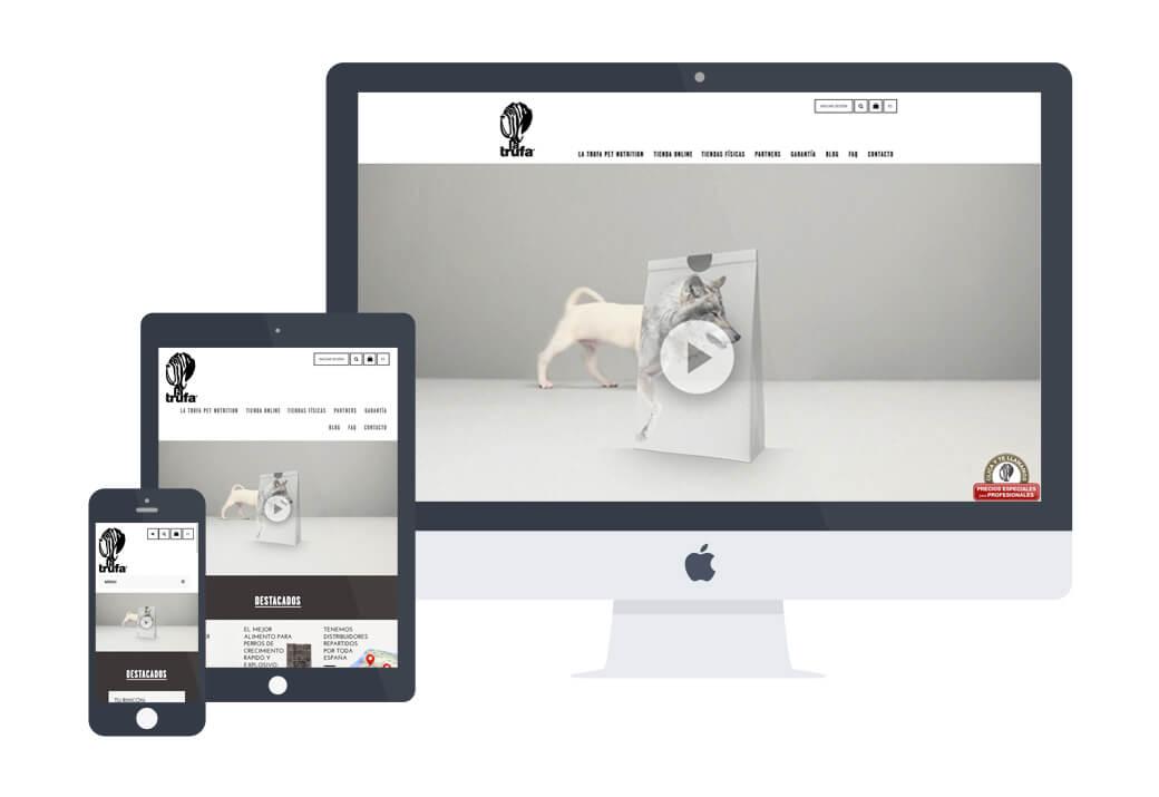 Desarrollo web la trufa - Artimedia