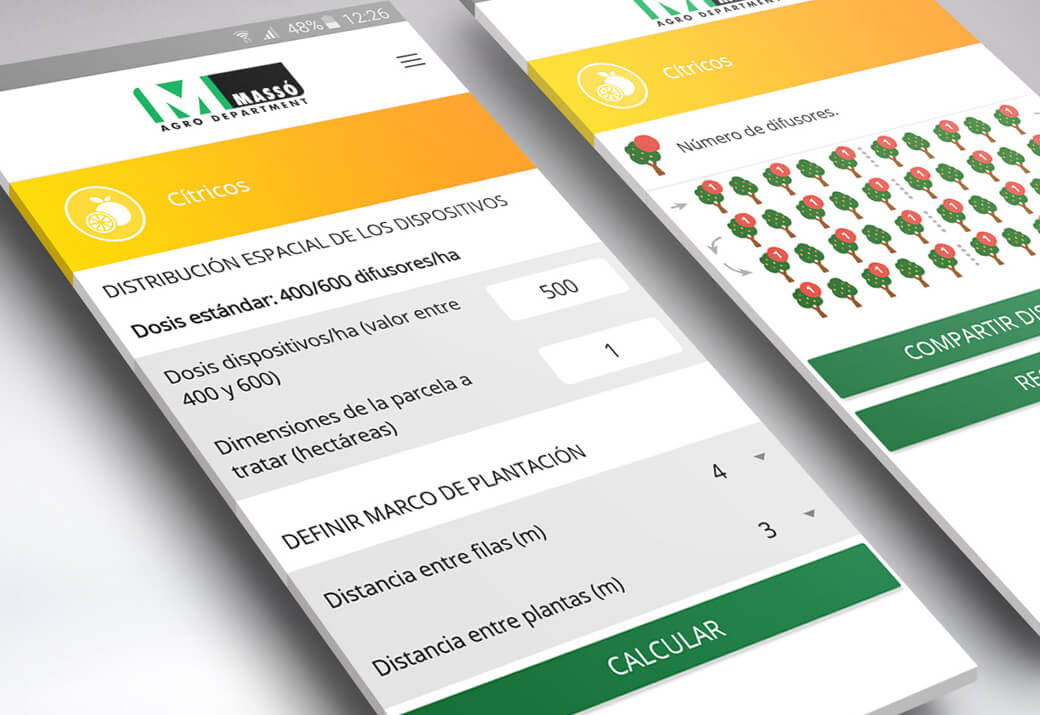 Desarrollo app Massó - Artimedia