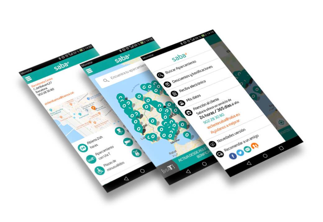 Aplicación web Saba - Artimedia